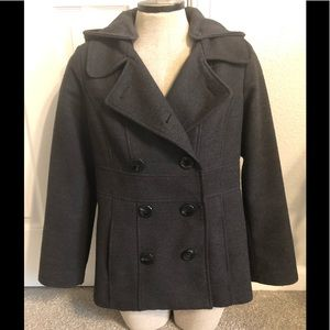 Style &Co. woman's, classic pea coat, size PS